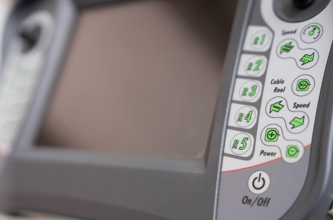 Monitor para inspección y rehabilitación de redes de saneamiento