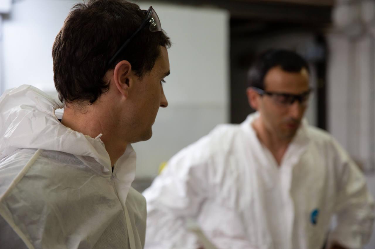 Trabajadores de Hidroclean Bilbao especializados en la inspección y rehabilitación de redes de saneamiento